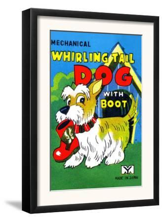 Mechanical Whirling Dog with Boot