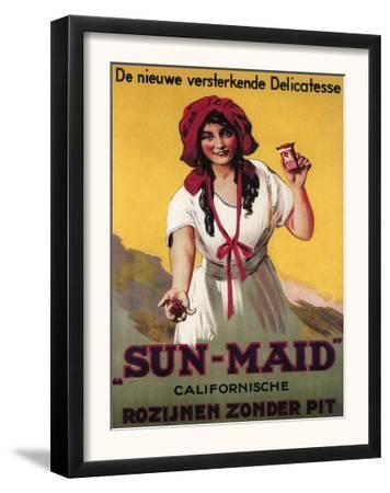 Germany - Sun-Maid California Raisin Poster