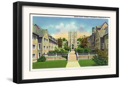Ithaca, New York - Cornell University Baker Court Scene