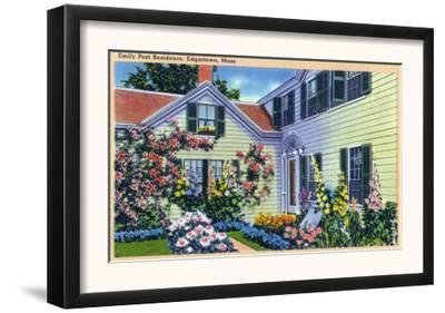 Edgartown, Massachusetts - View of Emily Post Residence