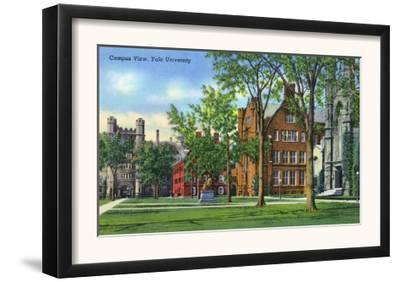 New Haven, Connecticut - Yale University Campus View