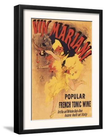Paris, France - Vin Mariani Dancing Girl Pouring Wine Promotional Poster