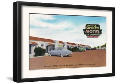 Exterior View of Avalon Motel - Fresno, CA