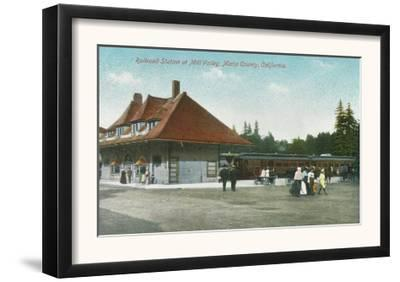 Exterior View of the Railway Station - Mill Valley, CA