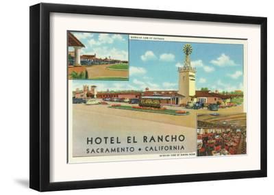 Exterior View of the Hotel el Rancho - Sacramento, CA