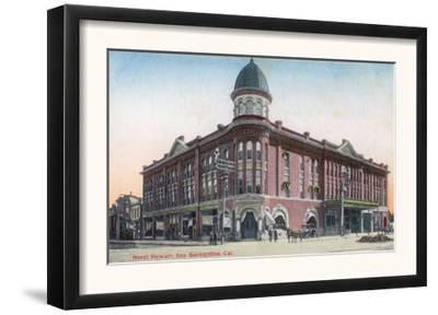 Exterior View of the Hotel Stewart - San Bernardino, CA