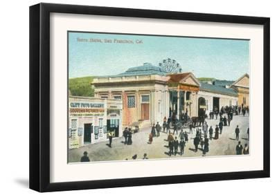 Exterior View of the Sutro Baths - San Francisco, CA