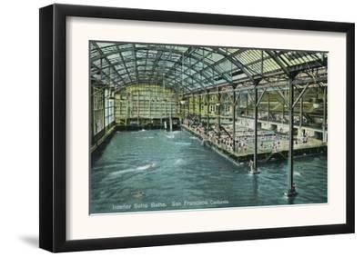 Interior View of the Indoor Sutro Baths - San Francisco, CA