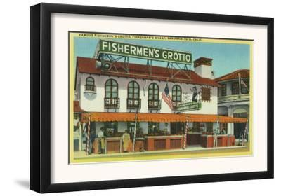 Exterior View of the Famous Fisherman's Grotto Bldg - San Francisco, CA