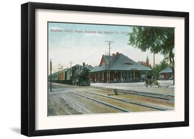Exterior View of the Southern Pacific Depot - Stockton, CA