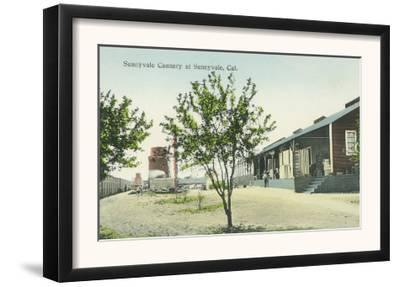 Exterior View of the Sunnyvale Cannery - Sunnyvale, CA