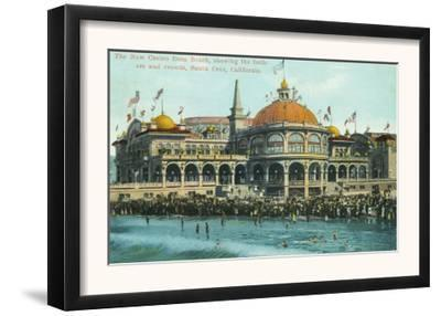Exterior View of the New Casino from the Beach - Santa Cruz, CA