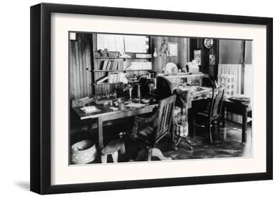 Interior View of Jack London's Den - Glen Ellen, CA