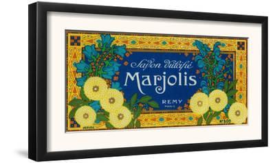 Marjolis Soap Label - Paris, France