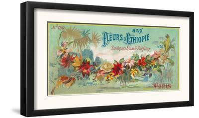 Fleurs D Ethiopie Soap Label - Paris, France