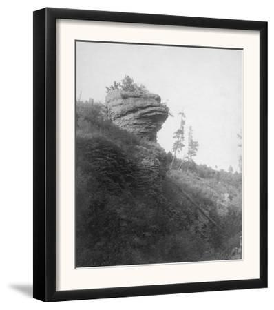 Frog's Head Rock on Deadwood Road Photograph - Deadwood, SD