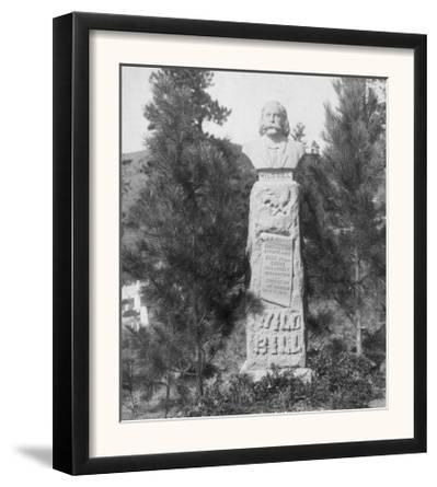 Headstone of Wild Bill Hickock's Grave Photograph - Deadwood, SD