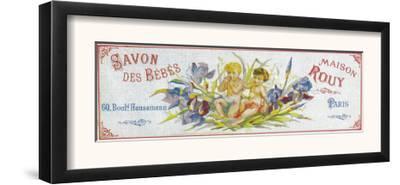 Savon Des Bebes Soap Label - Paris, France