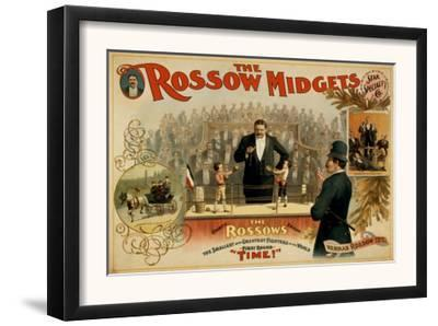 The Rossow Midgets Boxing Match Theatre Poster