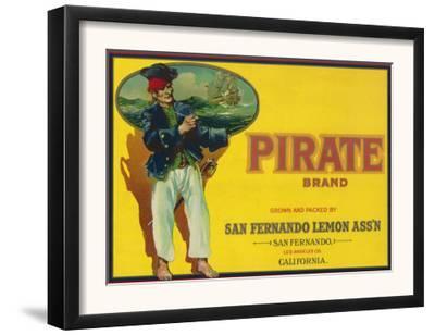 Pirate Lemon Label - San Fernando, CA