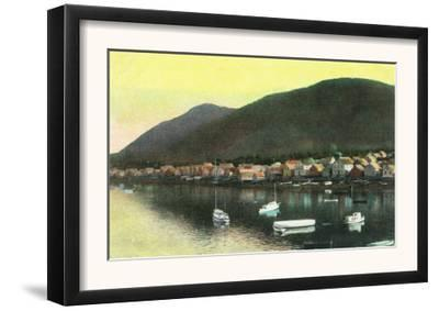Waterfront View of Indian Town - Sitka, AK