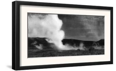 View of Springer's Hot Springs Steam Rising - Fernley, NV