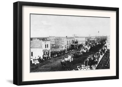 A Town Parade Scene - Jud, ND