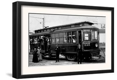 West Seattle and Luna Park Trolley Photograph - Seattle, WA