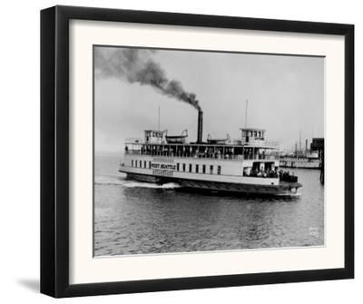 "Sidewheeler Ferry ""West Seattle"" Photograph - Seattle, WA"
