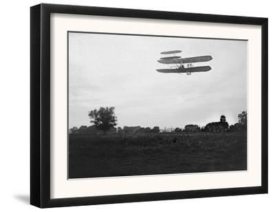 Orville Wright on Flight 41 at 60 foot high Photograph - Dayton, OH