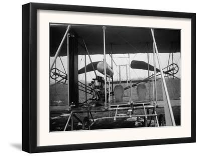 Wright Brothers Plane with Pilot and Passenger Seats Photograph - Dayton, OH