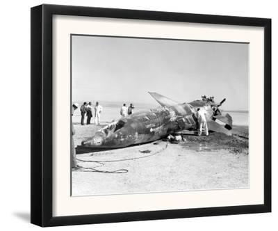 X-15 Crash Photograph - Mud Lake, NV