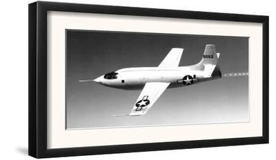 X-1-1 In Flight Photograph - Edwards AFB, CA