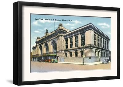 Albany, New York - Exterior View of the NY Central Railroad Station No. 2