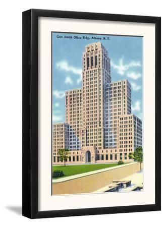 Albany, New York - Exterior View of the Gov Smith Office Building