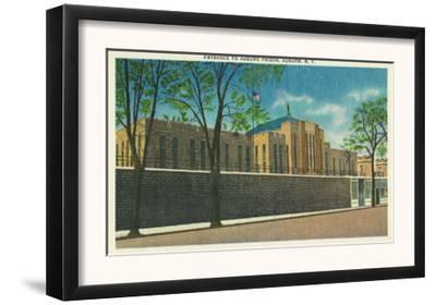 Auburn, New York - Entrance View to the Auburn Prison
