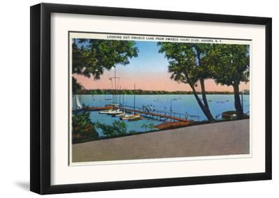 Auburn, New York - Owasco Yacht Club View of Owasco Lake