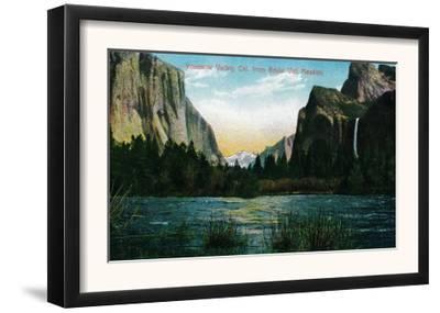 Yosemite Valley from Bridal Veil Meadow - Yosemite, CA