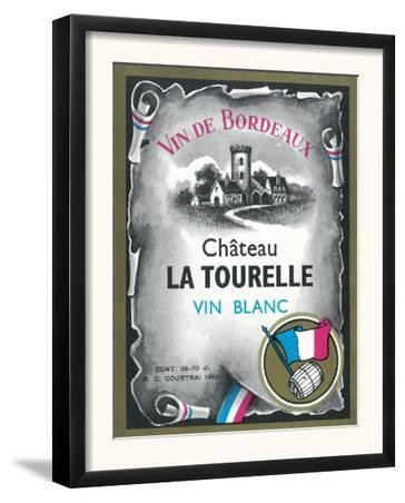 Vin De Bordeaux Wine Label - Europe