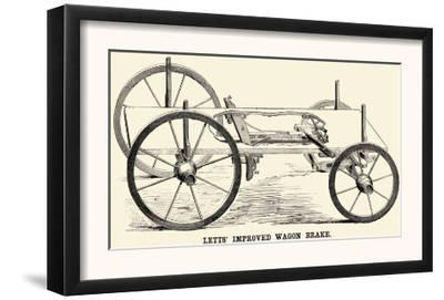 Lett's Improved Wagon Brake