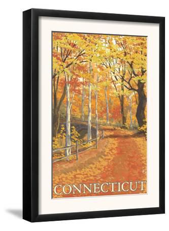 Connecticut, Fall Colors Scene