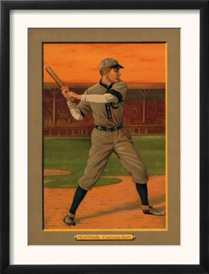 Chicago Il Chicago Cubs Solly Hofman Baseball Card