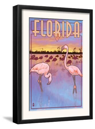 Florida, Flamingos Scene