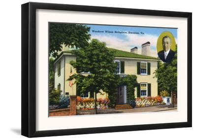 Staunton, Virginia, Exterior View of Woodrow Wilson's Birthplace