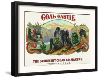 Coal Castle Brand Cigar Box Label