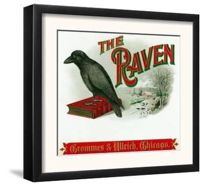 The Raven Brand Cigar Box Label