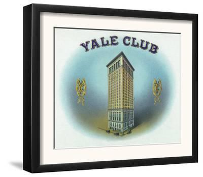 Yale Club Brand Cigar Box Label