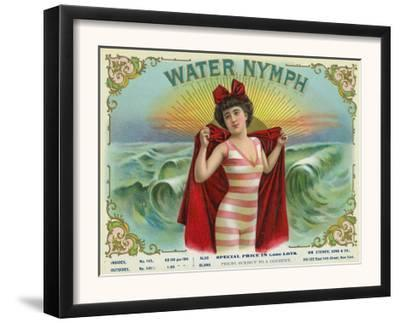 Water Nymph Brand Cigar Box Label