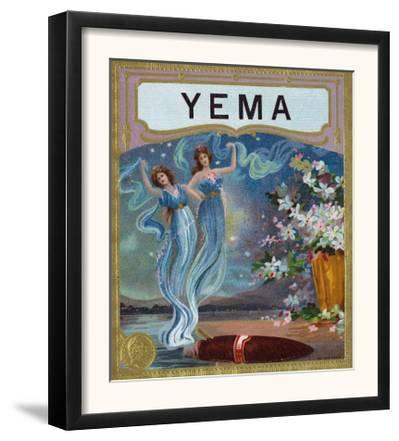 Yema Brand Cigar Box Label