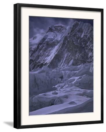 Khumbu Ice Fall and Everest Landscape, Nepal